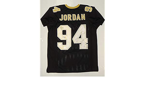 1c9d076512f Cameron Jordan Signed Autograph Black Pro Style Jersey (Size XL) Who Dat- JSA  Certified at Amazon's Sports Collectibles Store