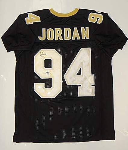 2c7ec3cb000 Image Unavailable. Image not available for. Color: Cameron Jordan Signed  Autograph Black Pro Style Jersey (Size XL) Who Dat- JSA