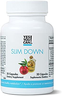 Yes You Can! Weight Loss Diet Supplement Kit Made with High-Quality Ingredients - Bundle Includes: (One Slim Down, One Appetite Support, One Collagen, One Colon Optimizer) - 30 Servings