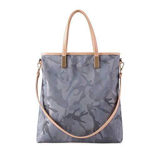 Masiva GWQGZ Match De Bolso Bag Hombro Gris Todos Bolso Moda Nueva Simple 6U1Zz6q0