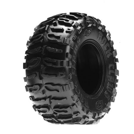 Losi Comp Crawler - Losi Front/Rear Rock Claws 2.2 Tires w/ Foam, Blue (2), LOSA7682B