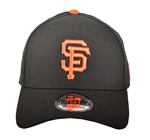 MLB San Francisco Giants Team Classic Game 39Thirty Stretch Fit Cap, Black, Medium/Large - San Francisco Giants Fitted Game