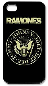 Teentopvogue Back Case Cover Ramones Punk Band for Iphone 4 4S