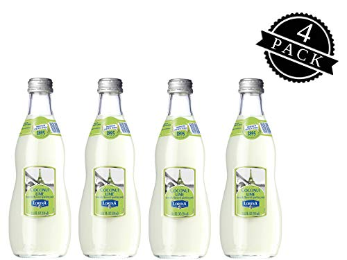 - Lorina Sparkling Soda Water Coconut Lime Flavor (11.1oz, 4-pack) Naturally Flavored Carbonated Soda Water, Artisan Crafted, Gluten-Free Beverage - No Artificial Colors or Flavors (On-the-go Size)