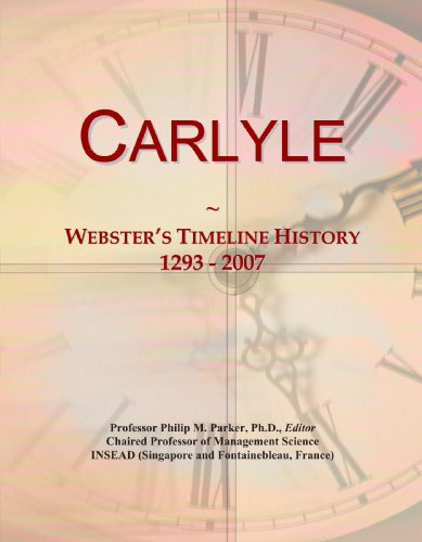 Carlyle  Websters Timeline History  1293   2007