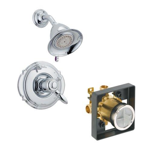 Delta Delta KSDVI-T17255-CH Victorian Shower Kit Pressure-Balance Dual-Function Cartridge, Chrome Chrome