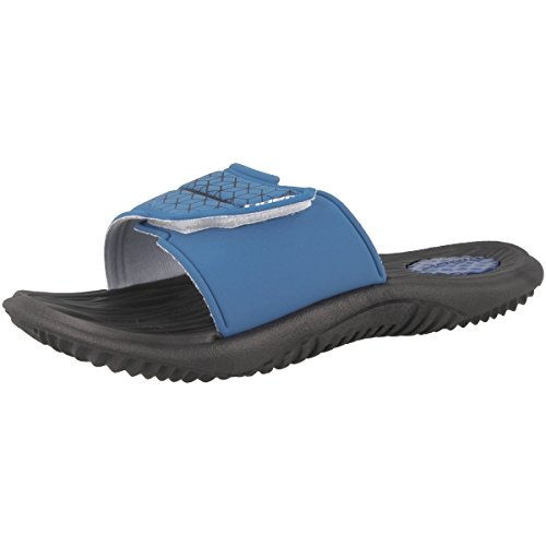 Pantofole Da Uomo Mai Indossate Iii E Sintetiche Nero-blu