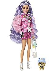 Barbie Extra docka med vintergröna hår