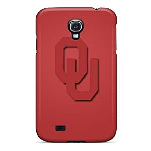 Cynthaskey Galaxy S4 Hybrid Tpu Case Cover Silicon Bumper Oklahoma Sooners