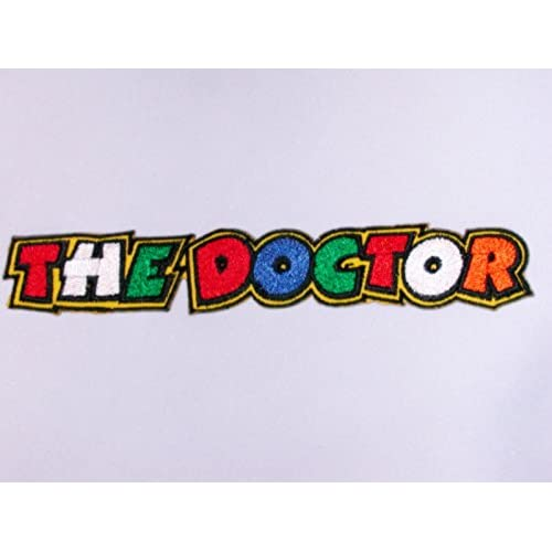 best Patches - The Doctor - long - Valentino Rossi - 46 - Sport motocycliste - The Doctor - Applique embroidery Écusson brodé Costume Cadeau - Patch