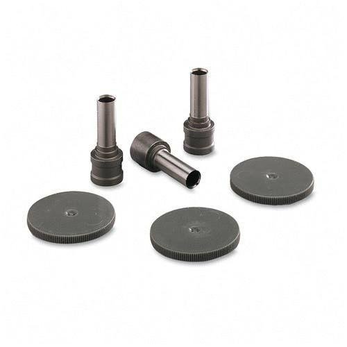 CARL 60002 Replacement Punch Head/Disk Set for Xhc-150 Punch, 3 9/32 Heads & 6 Disks/Set