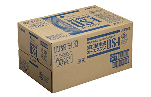 大塚製薬工場経口補水液オーエスワン500mL丸PETx24本(ケース)