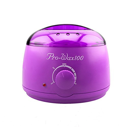 Wax Warmer Wloomm Electric Hair Removal Portable Electric Mini Salon Spa Wax Depilatory Machine Melting Pot 14 oz