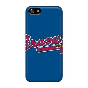 New Fashion Premium Tpu Case Cover For Iphone 5/5s - Baseball Atlanta Braves 3
