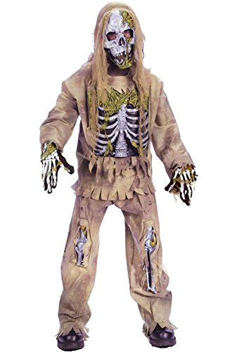 Mememall Fashion Skeleton Zombie Child Halloween Costume (Zombie Cowgirl Costumes)