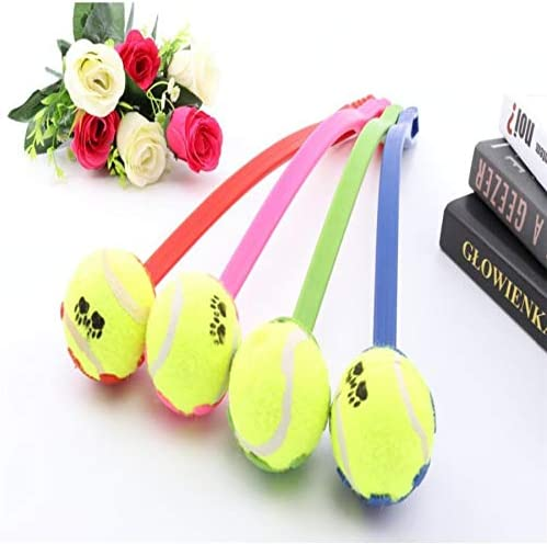 Global Brands Online Perro Lanzar Pelota de Tenis de Juguete con ...