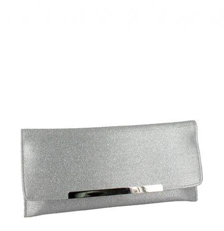 Menbur, Poschette giorno donna argento Silver Taglia unica