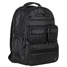 Lug Women's Puddle Jumper Backpack Gym Bag, Midnight Black, One Size