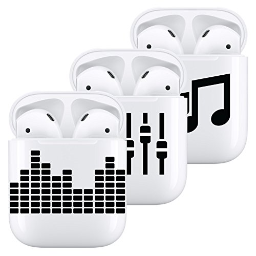 Price comparison product image Vinyl Decal for AirPods - Music Mixer