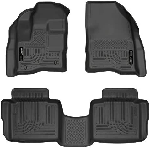 Husky Liners Fits 2010-20 Ford Taurus Weatherbeater Front & 2nd Seat Floor Mats