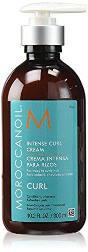 MoroccanOil Intense Curl Cream,300ml Bottle by MOROCCANOIL