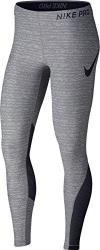 Nike Pro Women's Training Tights (Carbon Heather/Black, S)