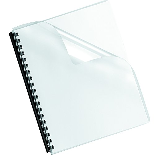 Fellowes Binding Presentation Covers, Oversize Letter, Clear, 100 Pack (52311)