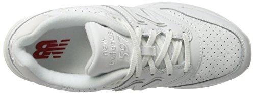 Herren Weiß White New Balance Laufschuhe 597 Weiß p1xAUq4w