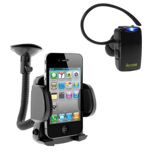 iKross-Mini-Bluetooth-Headset-Car-Mount-Holder-for-Nokia-Lumia-1320-Lumia-610-Lumia-635-Lumia-Icon-929-Lumia-1520-Lumia-1020-Window-Mobile-Cell-Phone