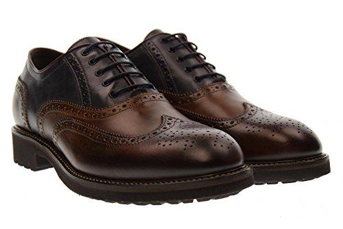 Marrone homme grigio 304 lacées chaussures GIARDINI A705273U NERO BROWN q0SFn