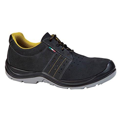 Giasco ac082tp47Sahara S1P niedrigen Schuh, Größe 47, Schwarz/Grau