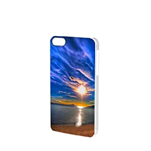Perfect Beach iPhone 5/5s Glossy White Case