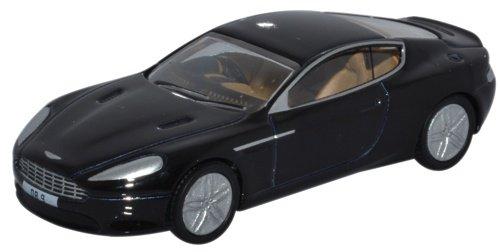 Aston Martin Db9 Coupe, Black, Rhd, 0, Model Car, Ready-made, Oxford 1:76