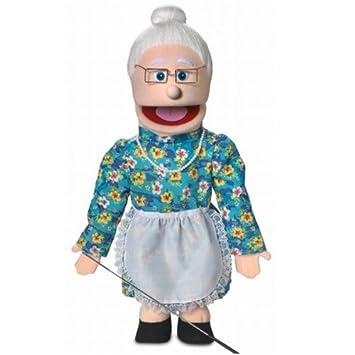 amazon granny 60cm full body puppet ぬいぐるみ おもちゃ
