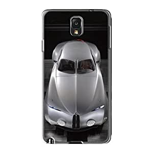 Flexible Tpu Back Case Cover For Galaxy Note3 - Bmw Mille Miglia Concept Top View