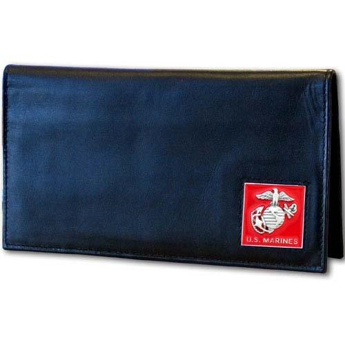 U.S. Marines Executive Leather Checkbook Cover - Executive Checkbook Cover Leather Accessories