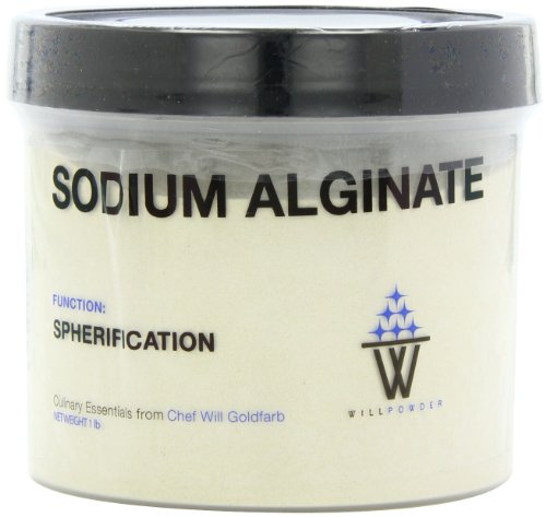 WillPowder De L'Alginate De Sodium, De 16 Oz Conteneur