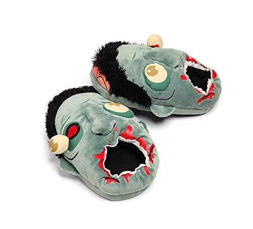 Soondar Zombie Plush Slippers (pair) x1YJq
