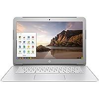 2017 Premium High Performance HP Chromebook, 14 inch HD, Intel Celeron Processor, 4GB RAM, 16GB eMMC, 802.11ac, Bluetooth, HDMI, USB 3.0, Webcam, Wifi, Chrome OS