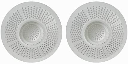 Hair stopper 2pk Plastic Drain Protector for Bathtubs /& Showers Pack of 2