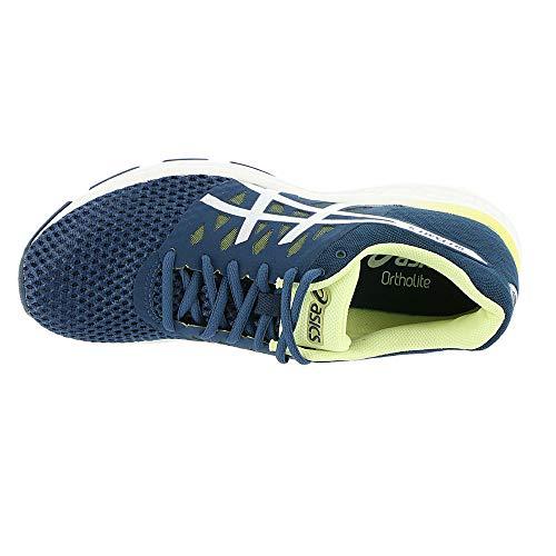 Dark Chaussures 4 exalt Femmes Asics Blue Pour Gel limelight silver xYwUq1yd4