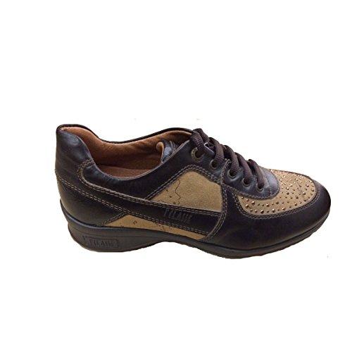 Zapatillas Marrón De 33 Cuero 1a Martini Alviero Niña Para Oscuro Classe Eu q8wFp6Int