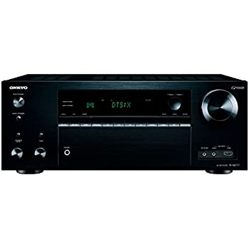 Onkyo THX-Certified Audio & Video Component Receiver black (TX-NR777)