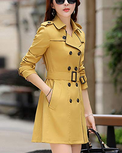 Manteau Femme Trench Coat Longues GladiolusA L Manches gd6wqg8