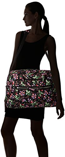 41tpNDmtgDL - Vera Bradley Women's Iconic Grand Weekender Travel Bag-Signature