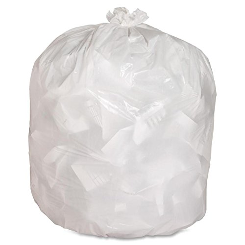 (Genuine Joe GJO02312 Heavy Duty Low-Density Kitchen Trash Bag, 13 gallon Capacity, 33