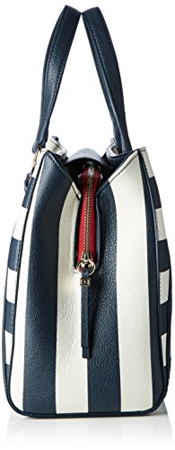 Tommy Hilfiger Fashion Novelty, Sacchetto Donna, Multicolore (Midnight / Turtledove / Scooter Red), 15x36x33 cm (b x h x t)