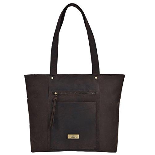Genuine Leather Crossbody Handbag