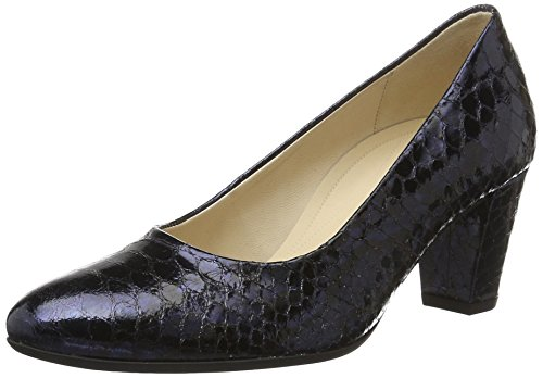 Venta barata disfrutar Zapatos azules Tacón de cuña Gabor Comfort para mujer Wiki Barato en línea barato real SfbGLO1M
