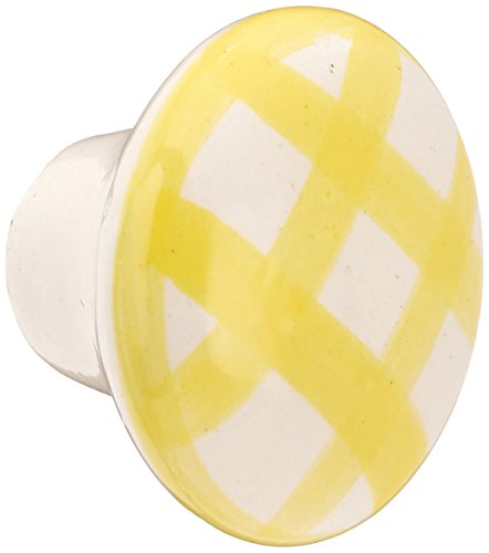 ch Porcelain Knob, Tattersal Yellow (Laurey Porcelain Knobs)